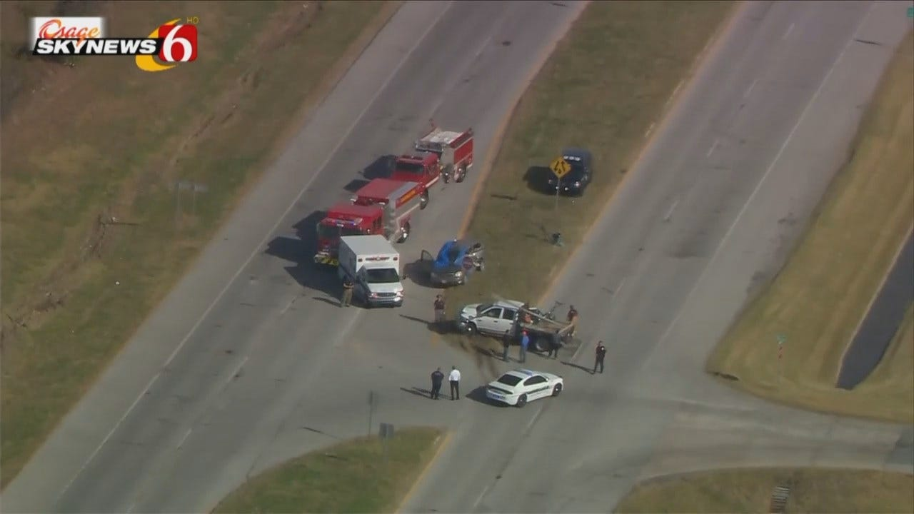 Two People Die In Collinsville Crash, OHP Says