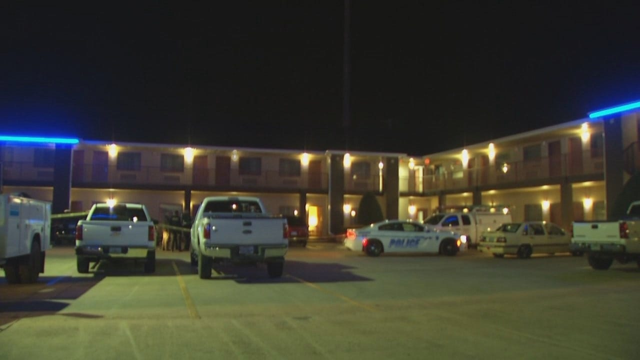 WEB EXTRA: Video From Scene Of Stabbing At Owasso Hotel