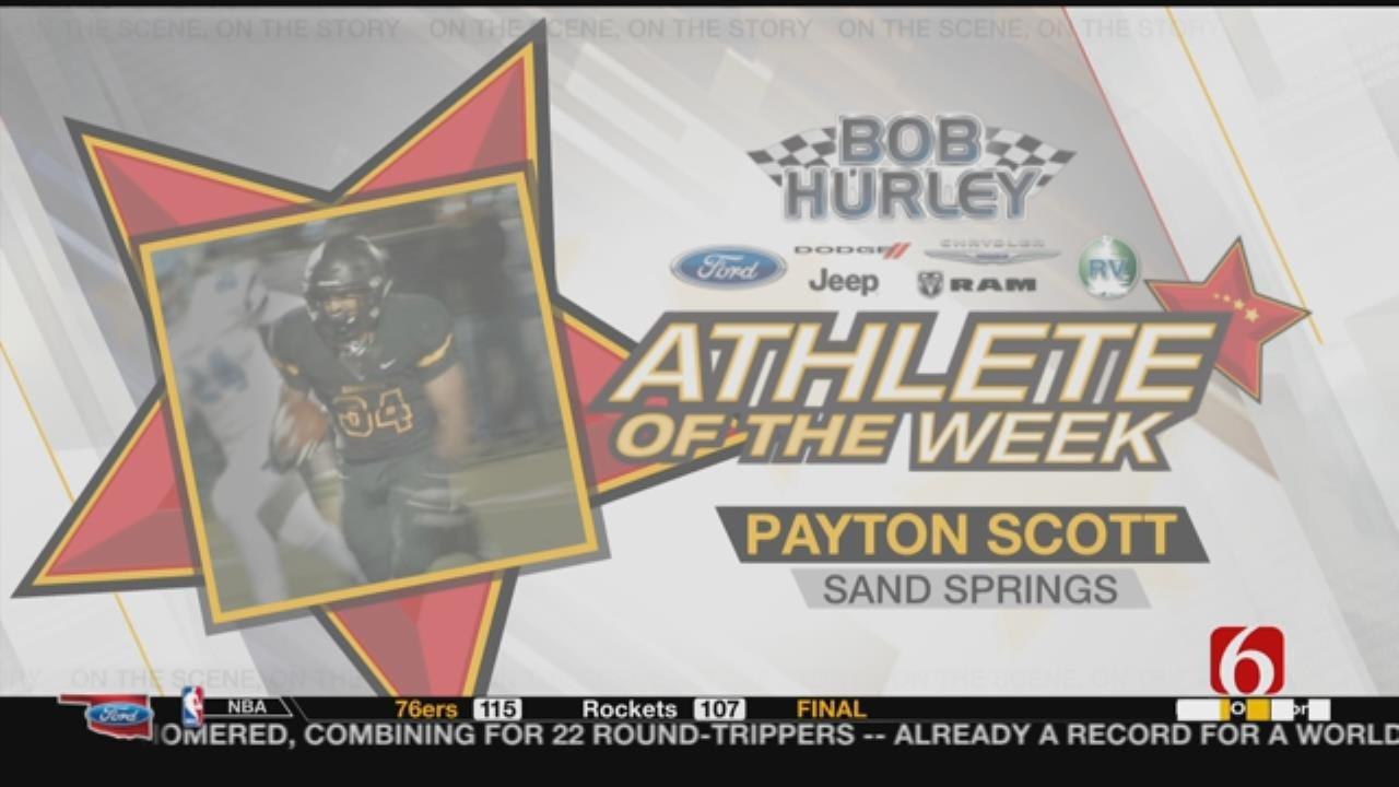 Athlete Of The Week: Sand Springs RB Payton Scott