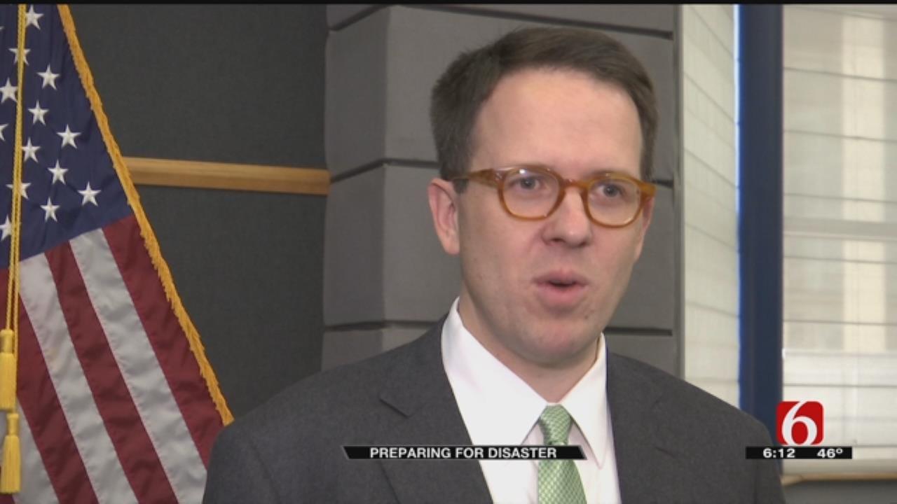 Oklahoma First Responders Prepare In Case Of Disaster