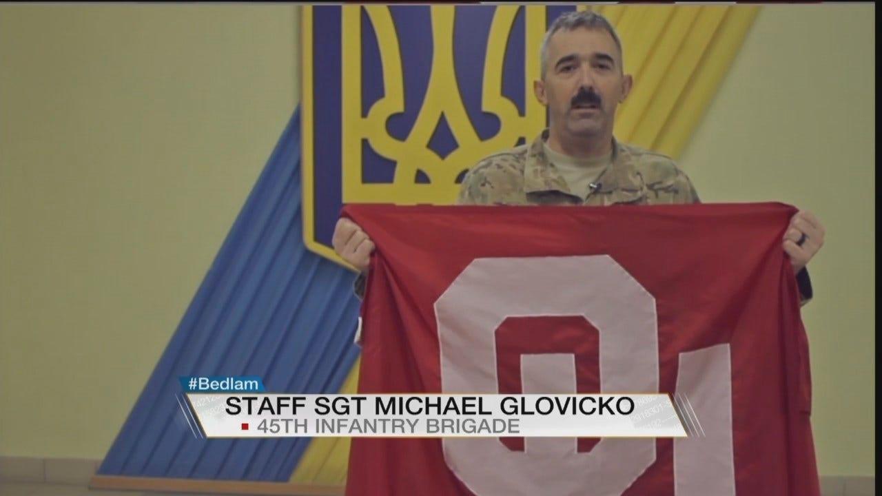 Bedlam Shoutout From Sgt. Anthony Jones Serving In Ukraine