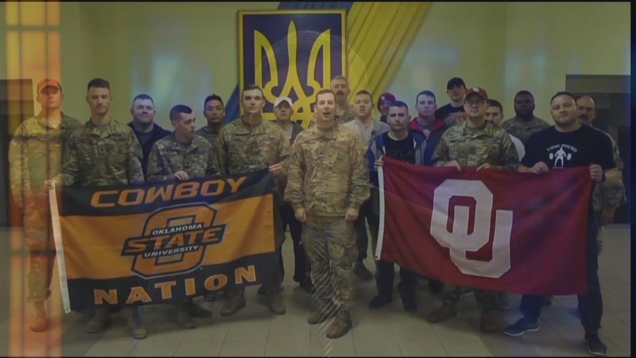 Bedlam Shoutout From Staff Sgt. Michael Glovicko, Serving In Ukraine