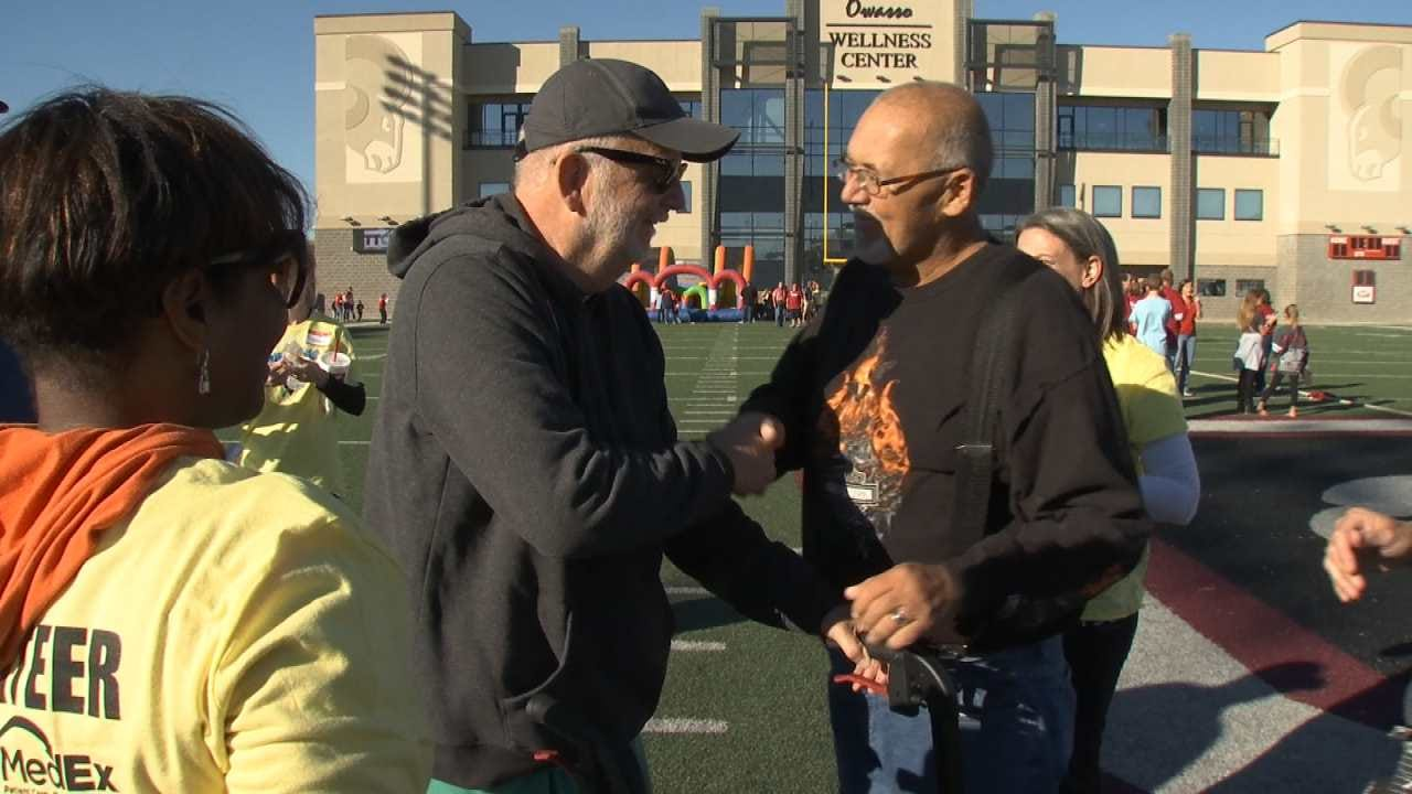 Owasso Stroke Victim Inspired By Event He Helped Create