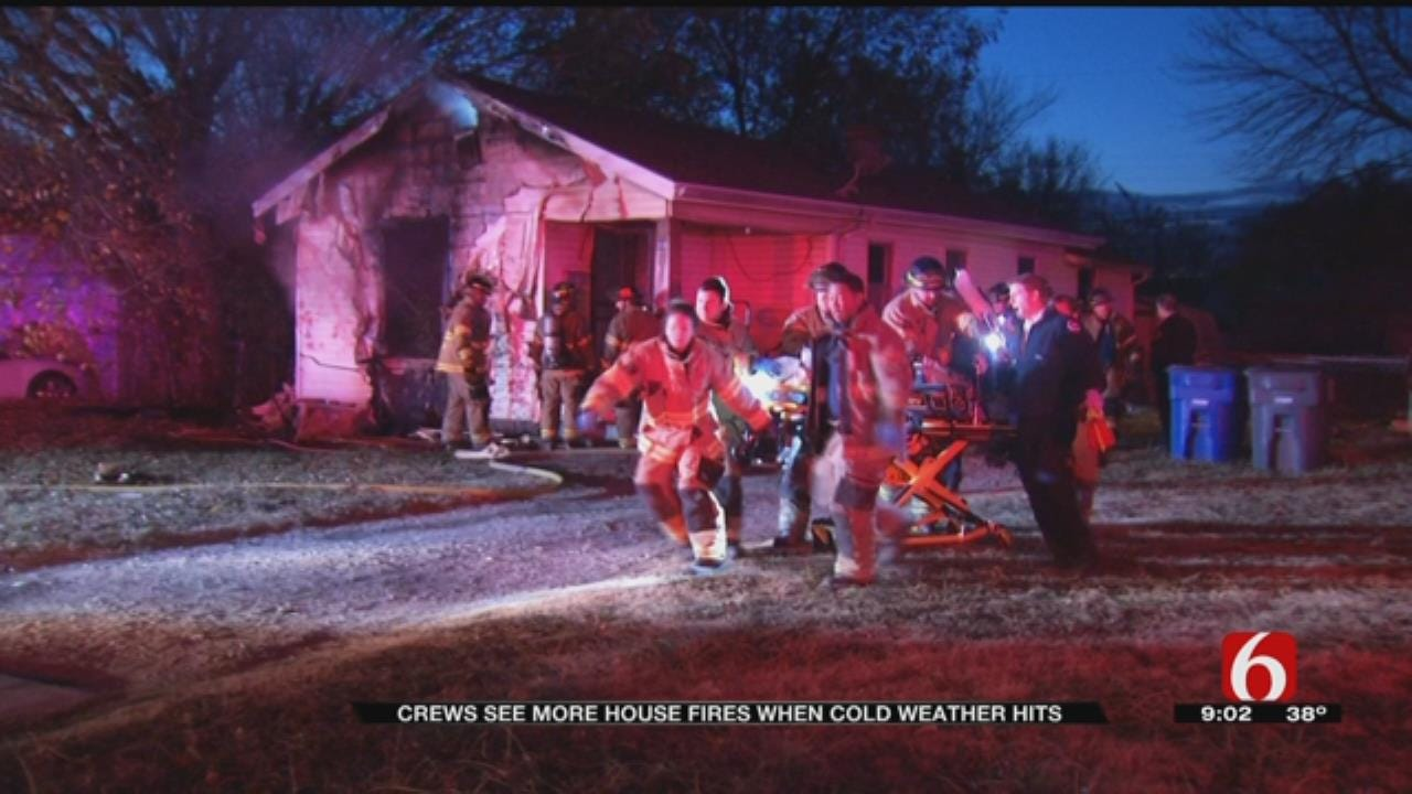 Tulsa Firefighters: Alternate Heat Sources Could Spell Disaster This Winter