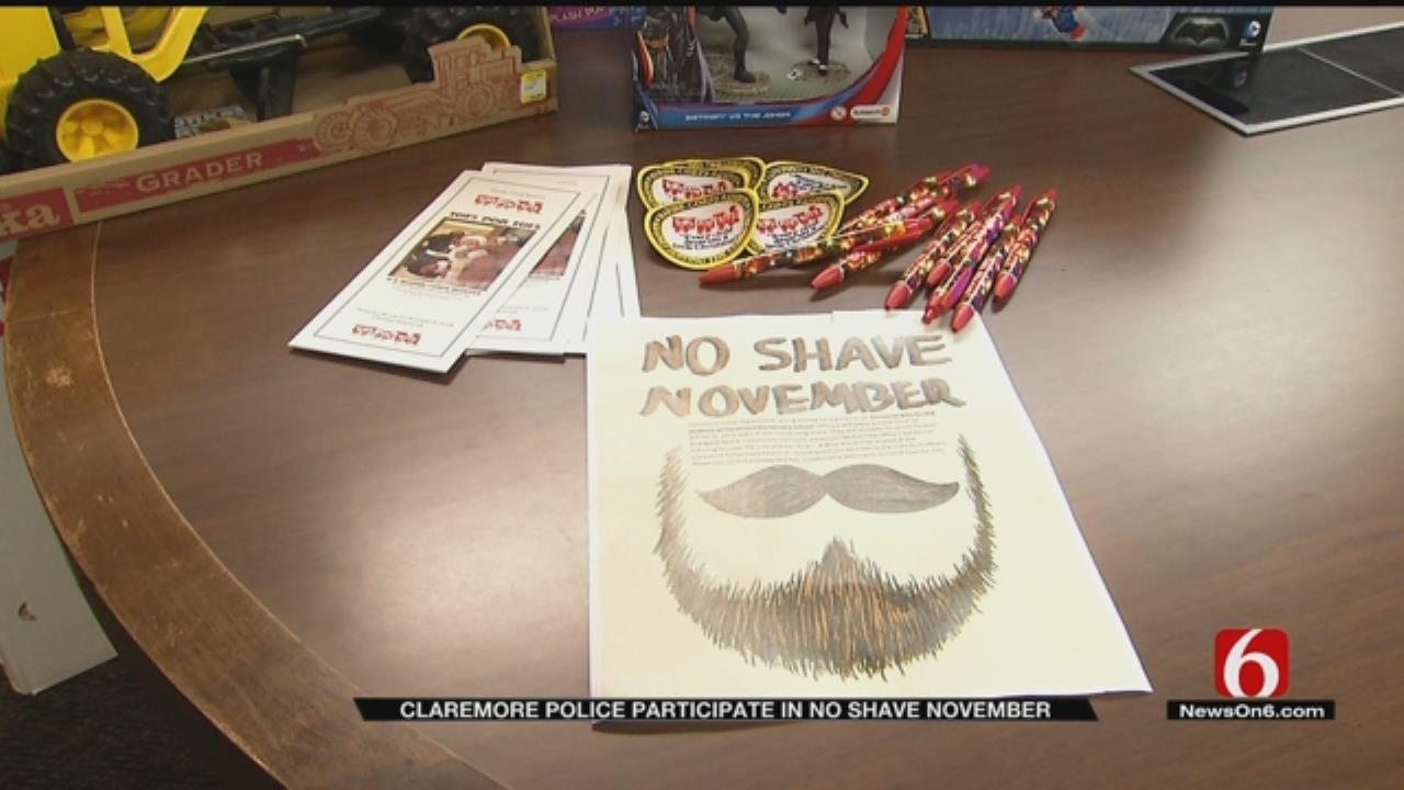 Claremore Police Forgo Razor For No Shave November