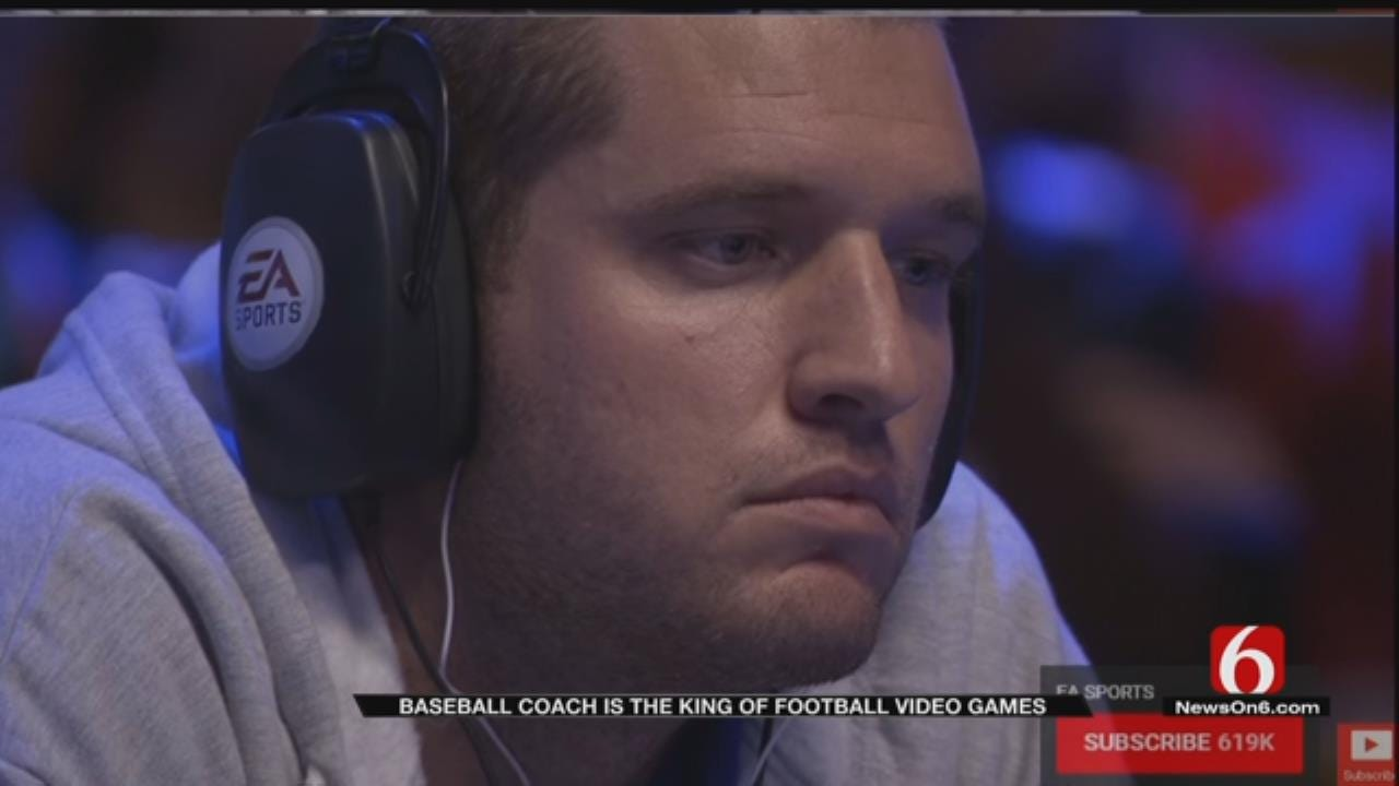 Oologah Baseball Coach One Of Nation's Top Video Gamers