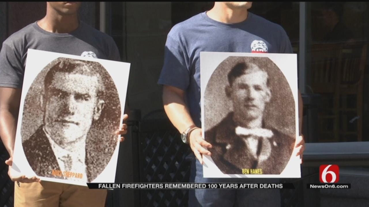 Tulsa Firefighters Killed In Line Of Duty Honored 100 Years Later
