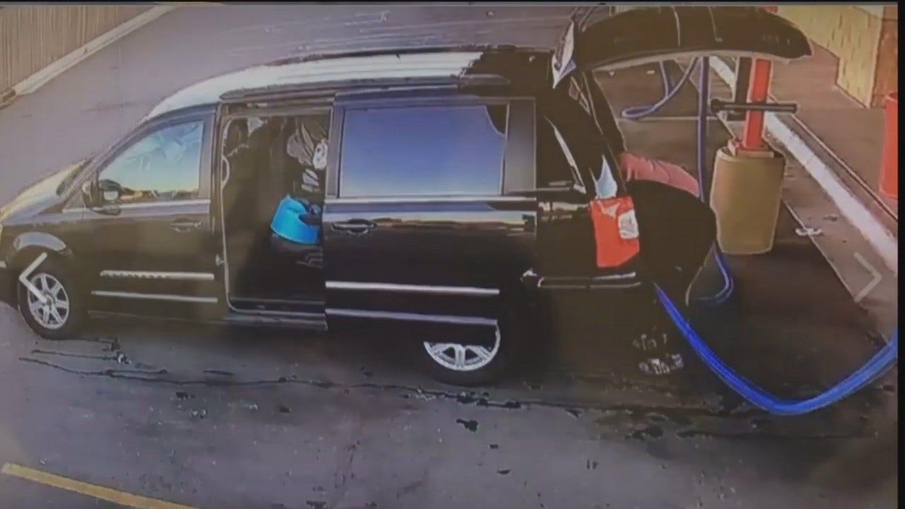 WEB EXTRA: Carwash Surveillance Video