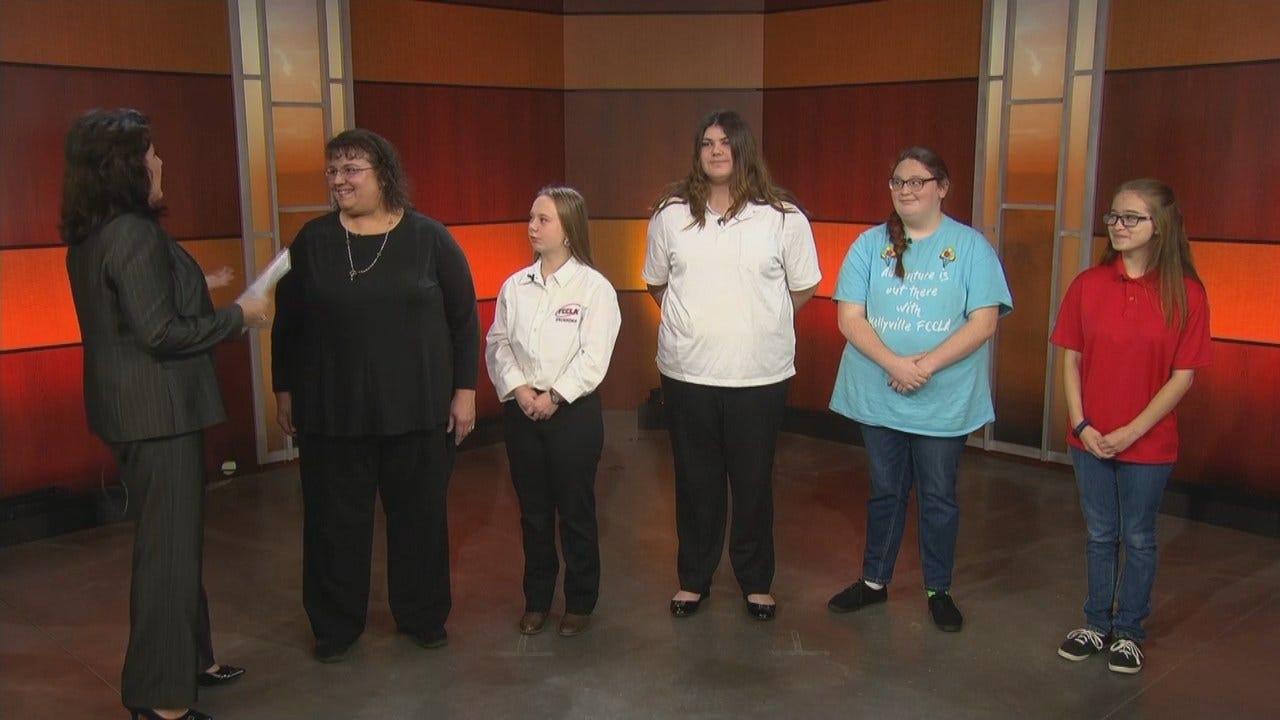 Kellyville Teacher, Students Talk About Houston Hurricane Harvey Trip