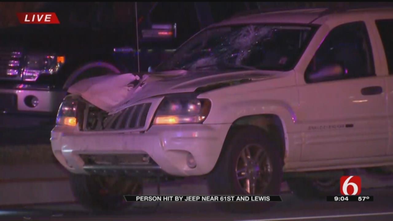 Tulsa Pedestrian Hit By Car In Critical Condition