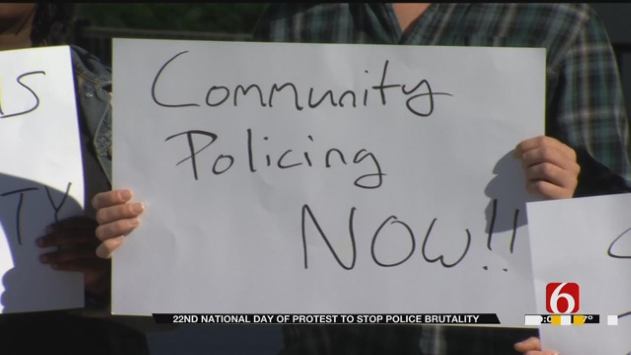 Tulsans Protest Police Brutality