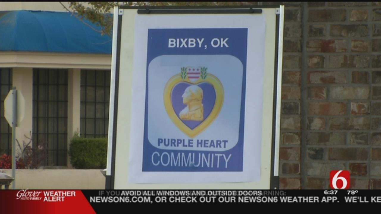 Bixby To Be Named Purple Heart City