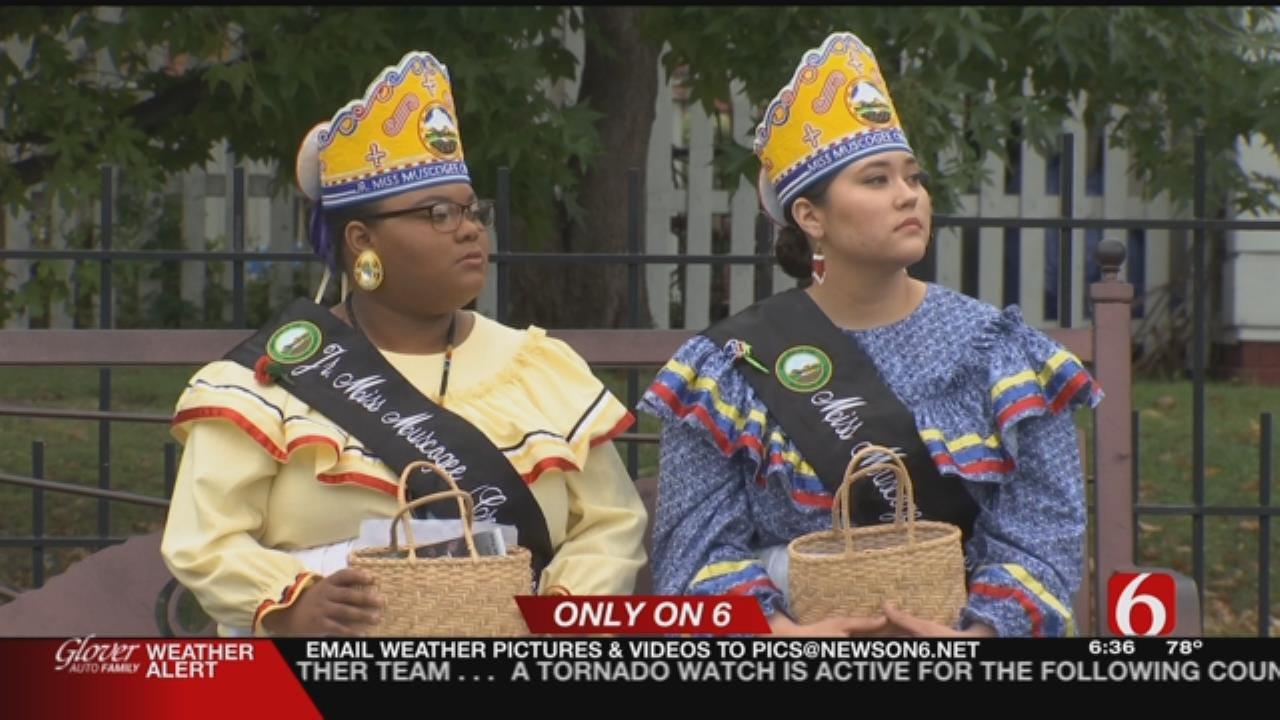 Muscogee Nation Commemorates 1836 Settlement Spot In Tulsa