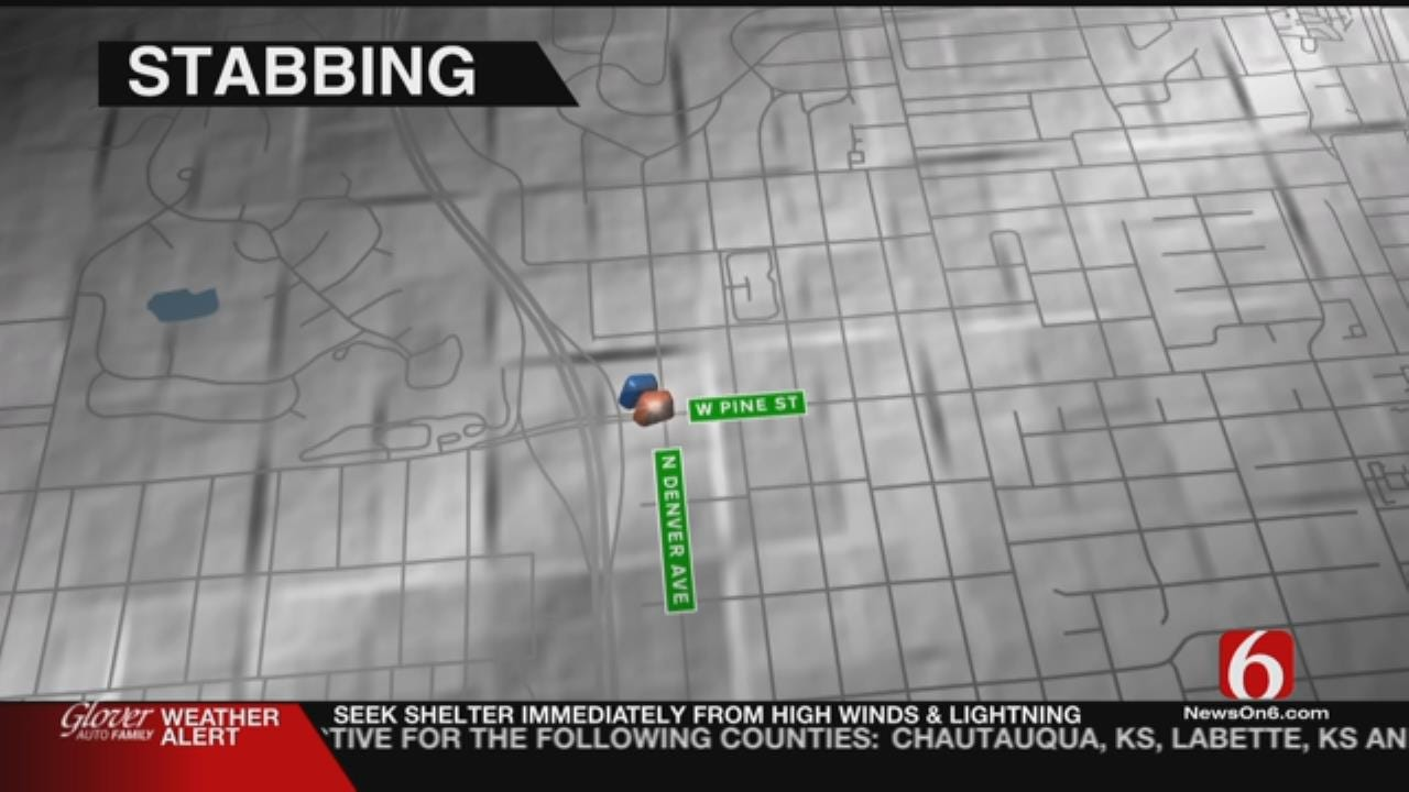 Tulsa Man Found In Street, Stabbed Several Times