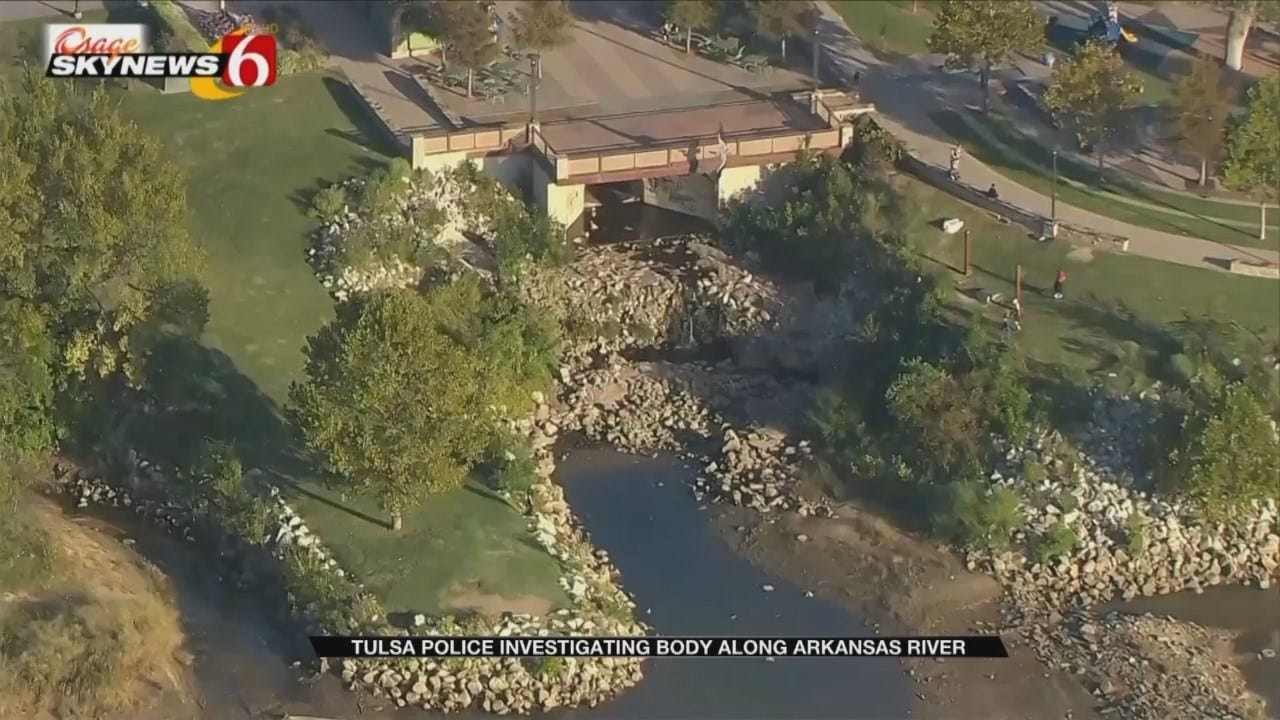 Tulsa Police Investigating After Body Found In Water