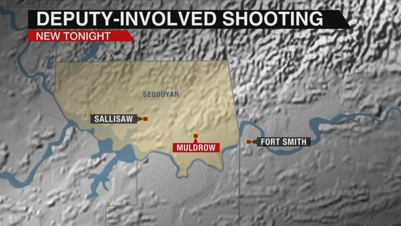 Sequoyah County Deputy Stabbed During Arrest