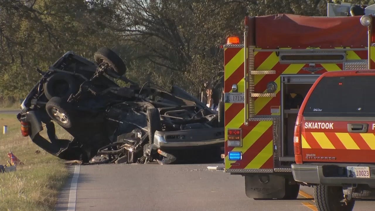 WEB EXTRA: Video From Scene Of Fatal Crash