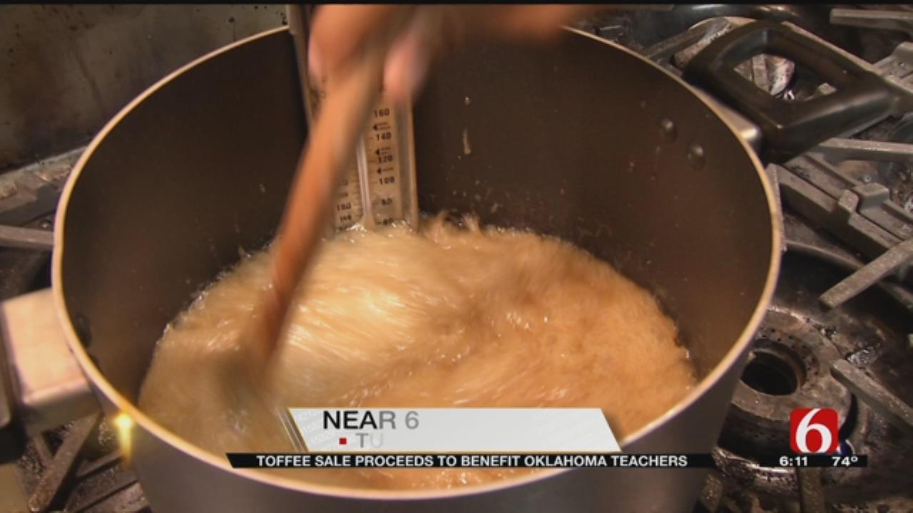 Tulsa Couple Bakes Toffee For Teachers