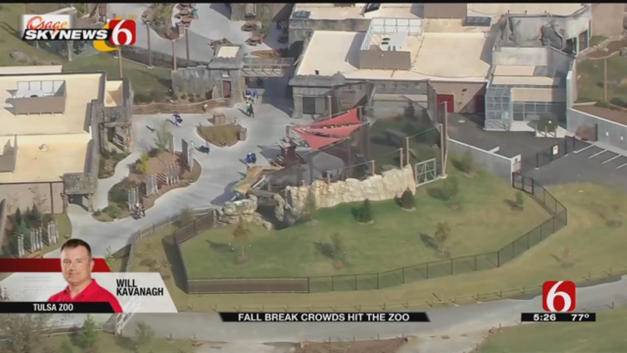 WEB EXTRA: Osage SkyNews 6 HD Flies Over The Tulsa Zoo