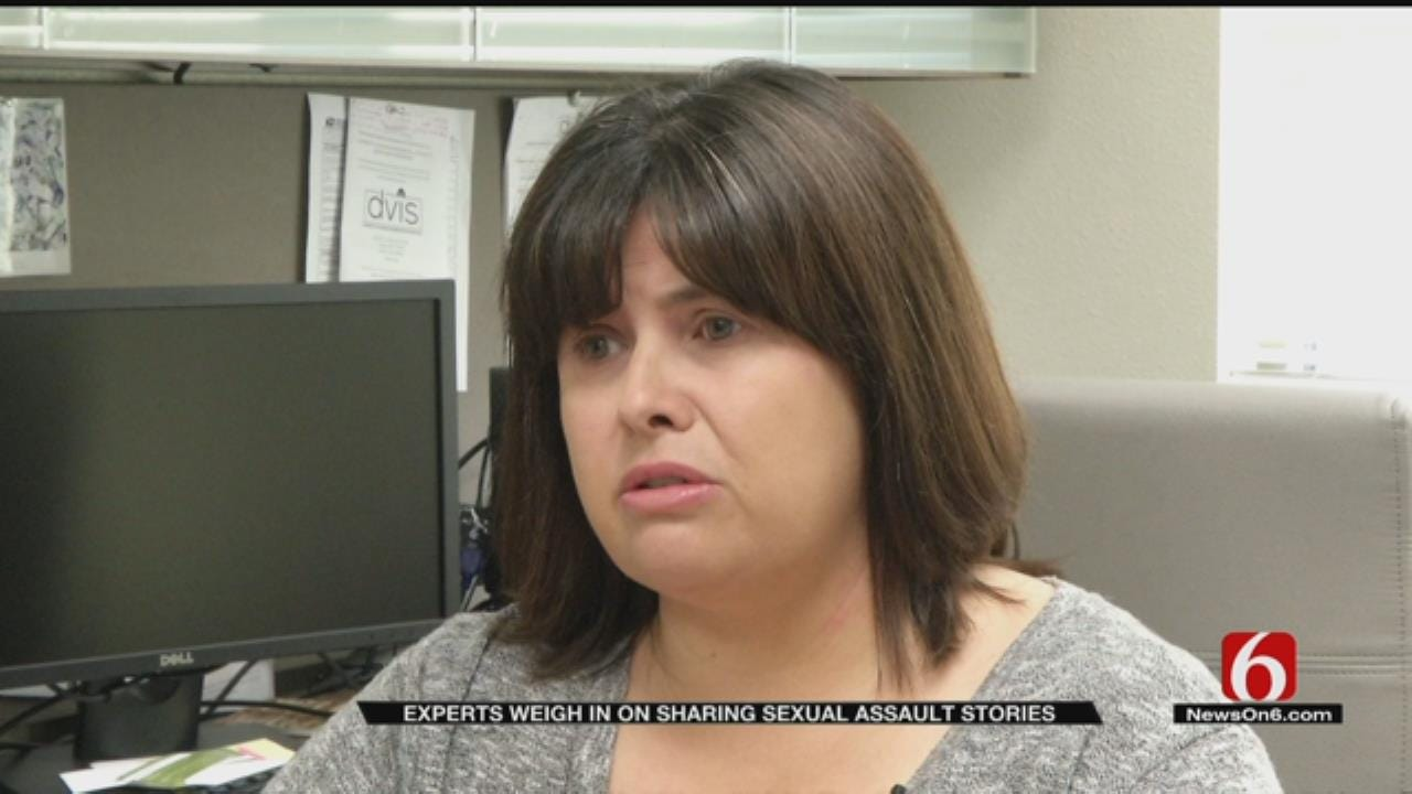 Counselors Say 'Me Too' Trend Can Be A Trigger For Victims