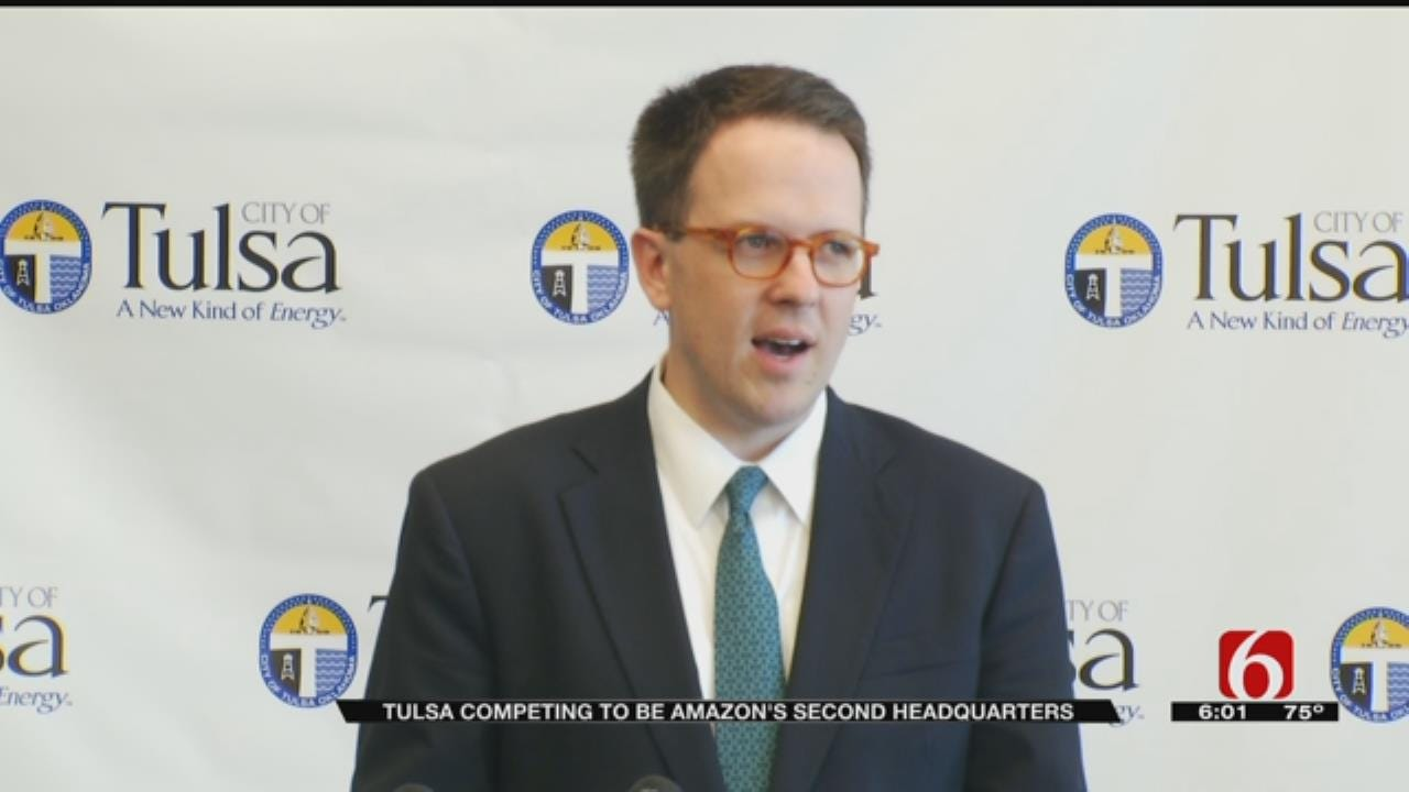 Mayor Discusses Attempt To Bring Amazon HQ To Tulsa