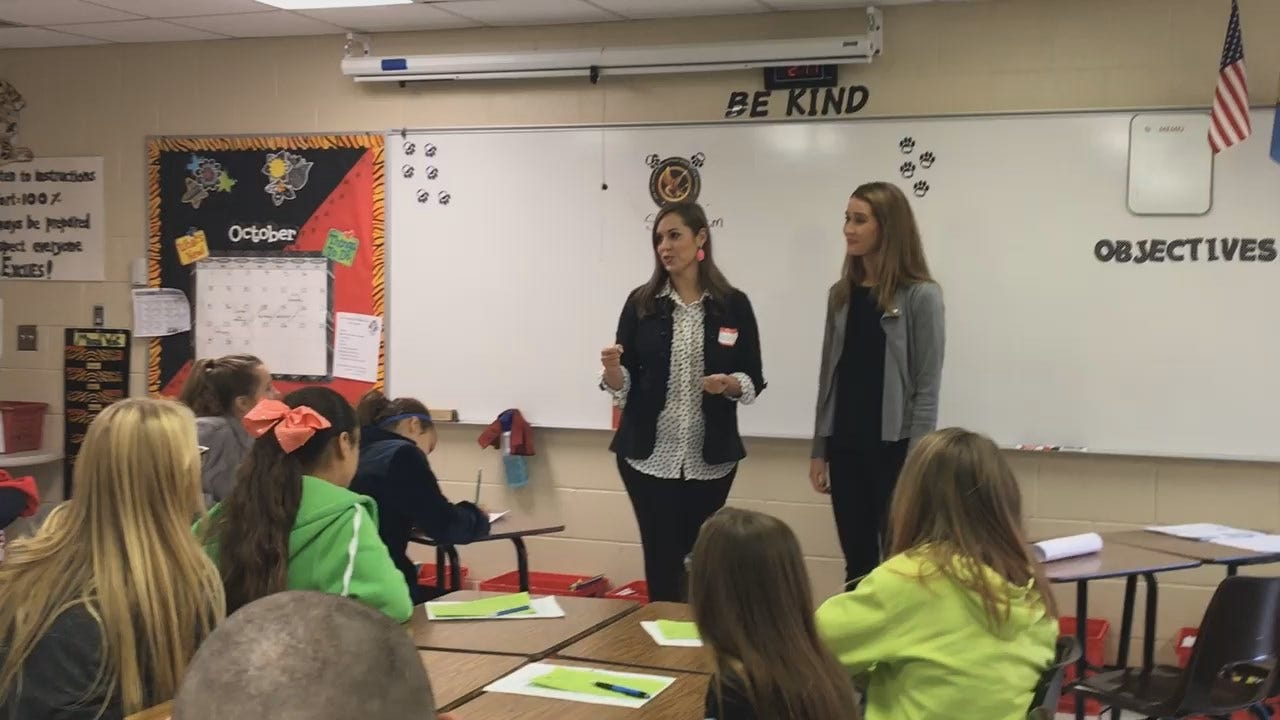 Julia Benbrook: News On 6 At Career Fair For Middle Schoolers