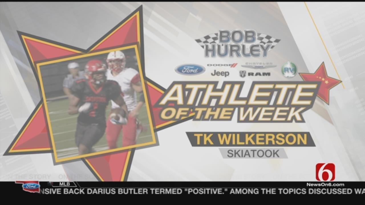 Athlete of the Week: Skiatook's TK Wilkerson