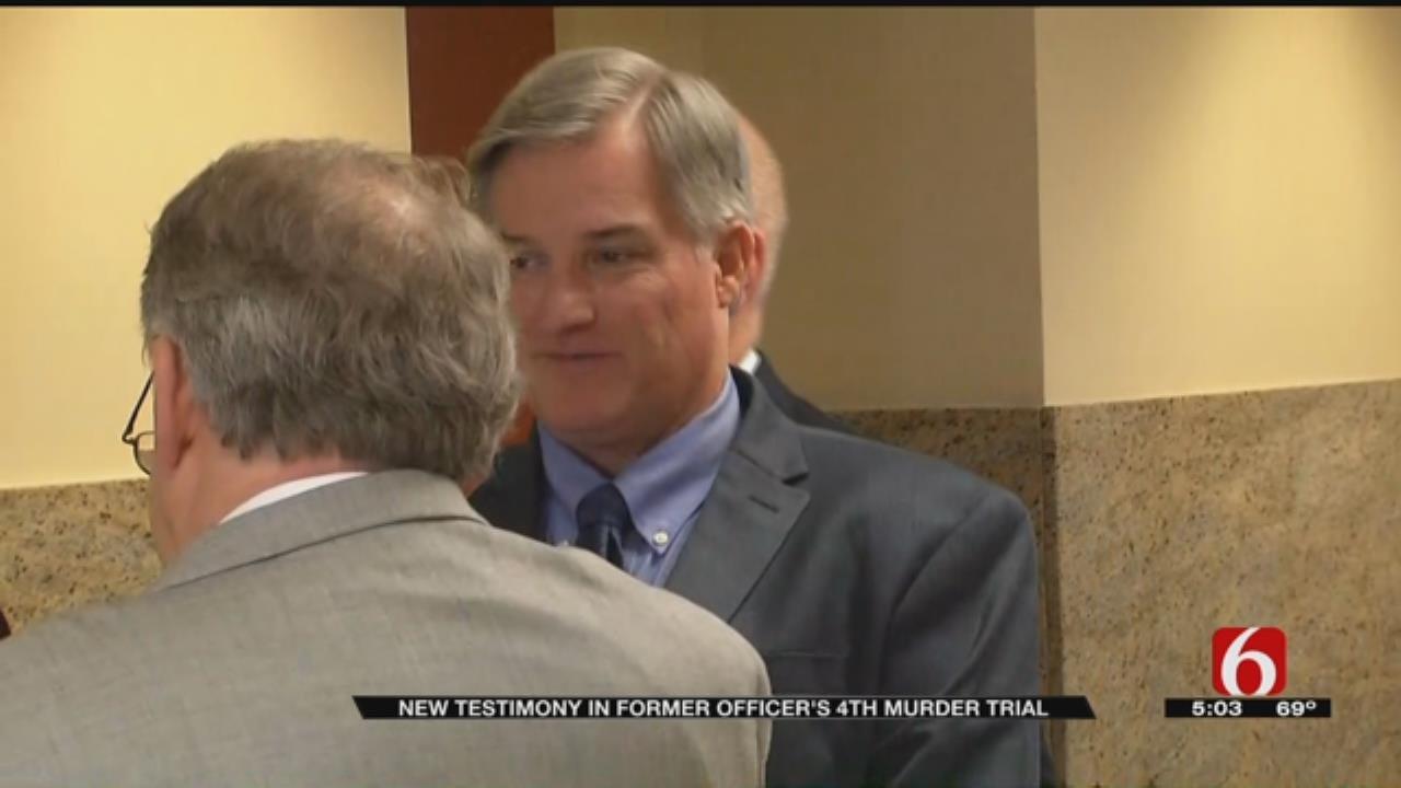 Former Tulsa Police Officer's Trial For Murder Resumes