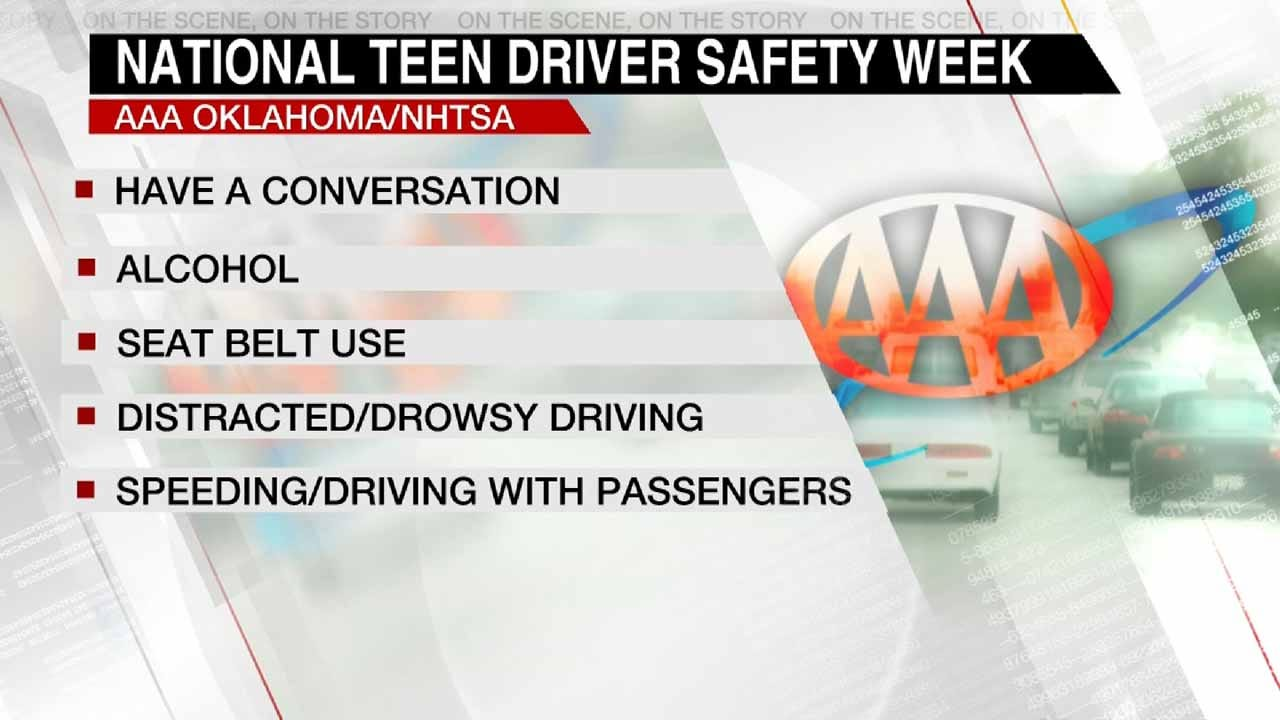 AAA Oklahoma Encourages Talking With Teens About Safety On The Road