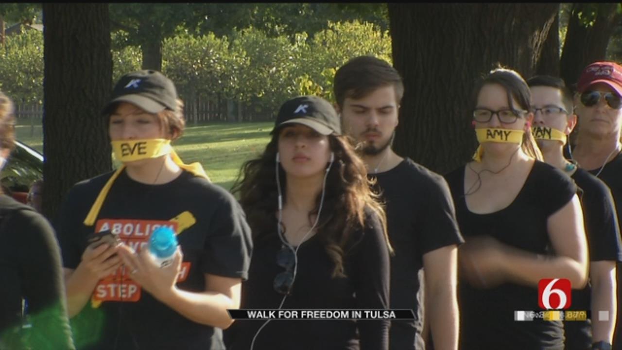 Tulsa Walk To End Human Trafficking Brings Large Numbers