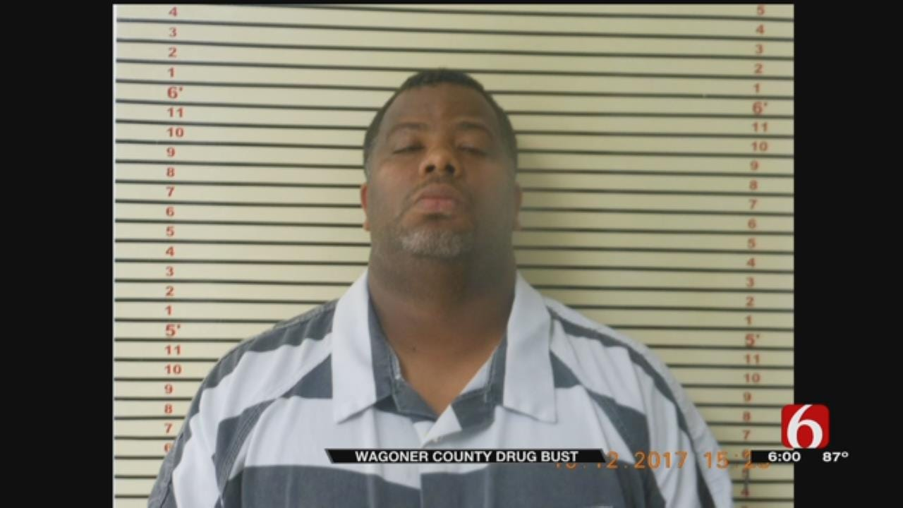 Traffic Stop Leads To Drug Bust In Wagoner