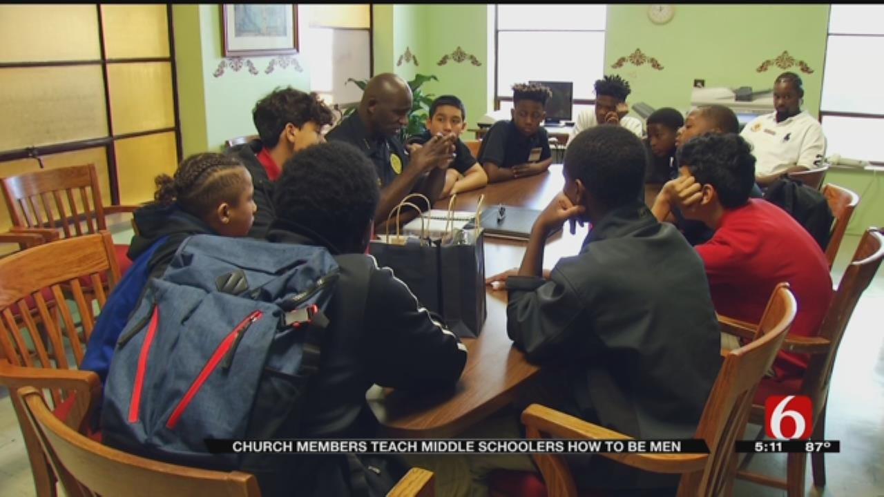 Church Conference Teaches Tulsa Middle School Boys How To Be Men