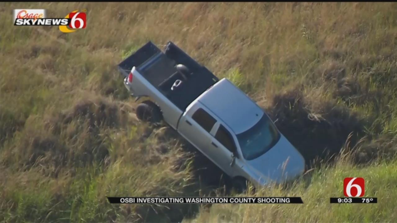 OSBI: Washington County Deputy Shoots Man West Of Vera