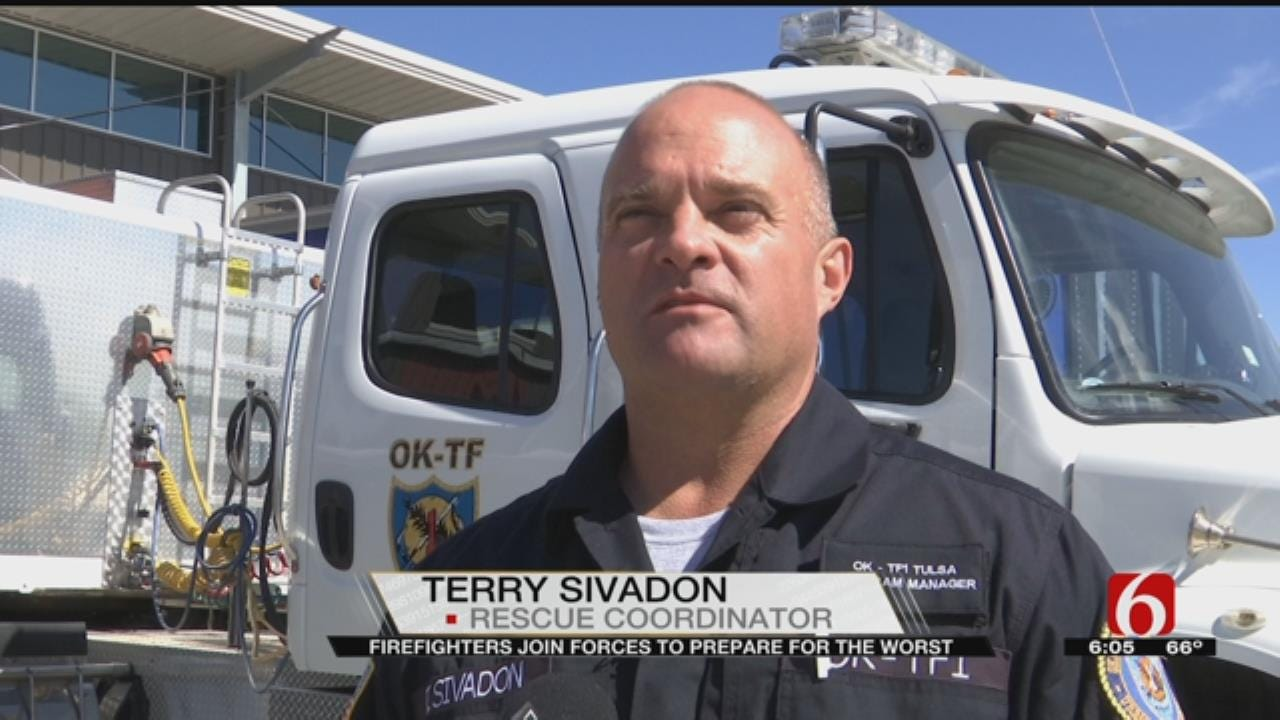 Tulsa First Responders Prepare For Natural Disasters With Search And Rescue Training