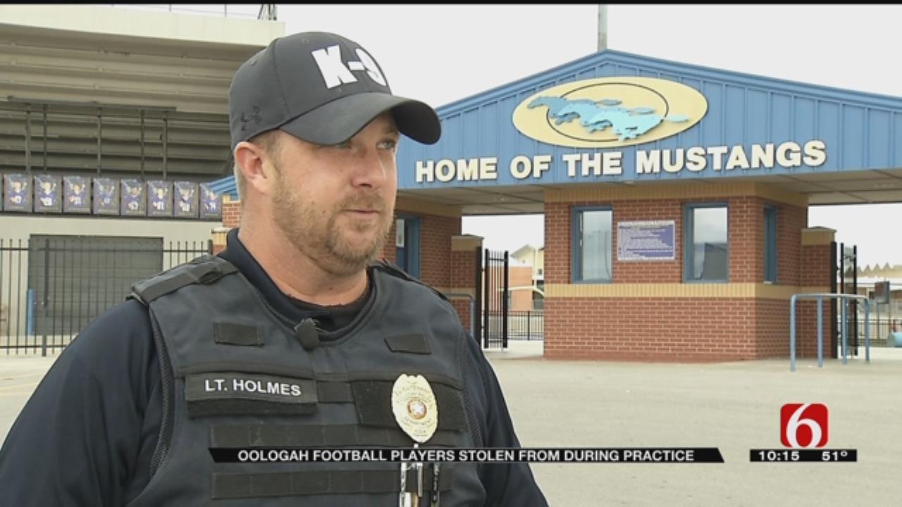 Oologah Football Locker Room Burglarized