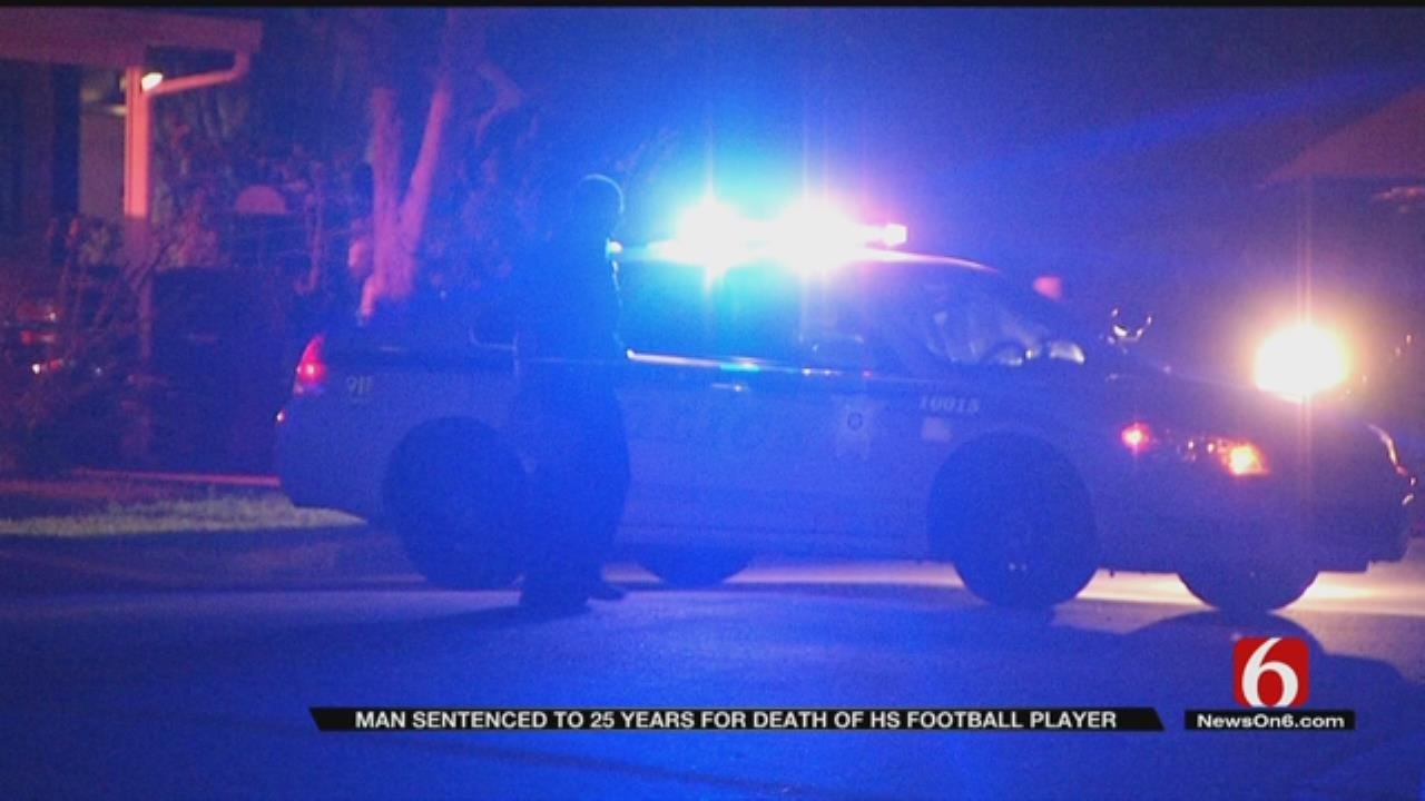 Tulsa Man Gets 25 Years In East Central Football Player's Death