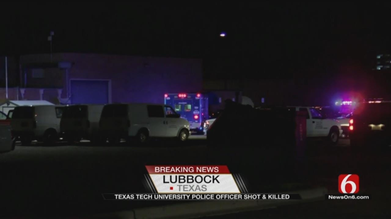Texas Tech Officer Shot Dead At Police Station, University Says