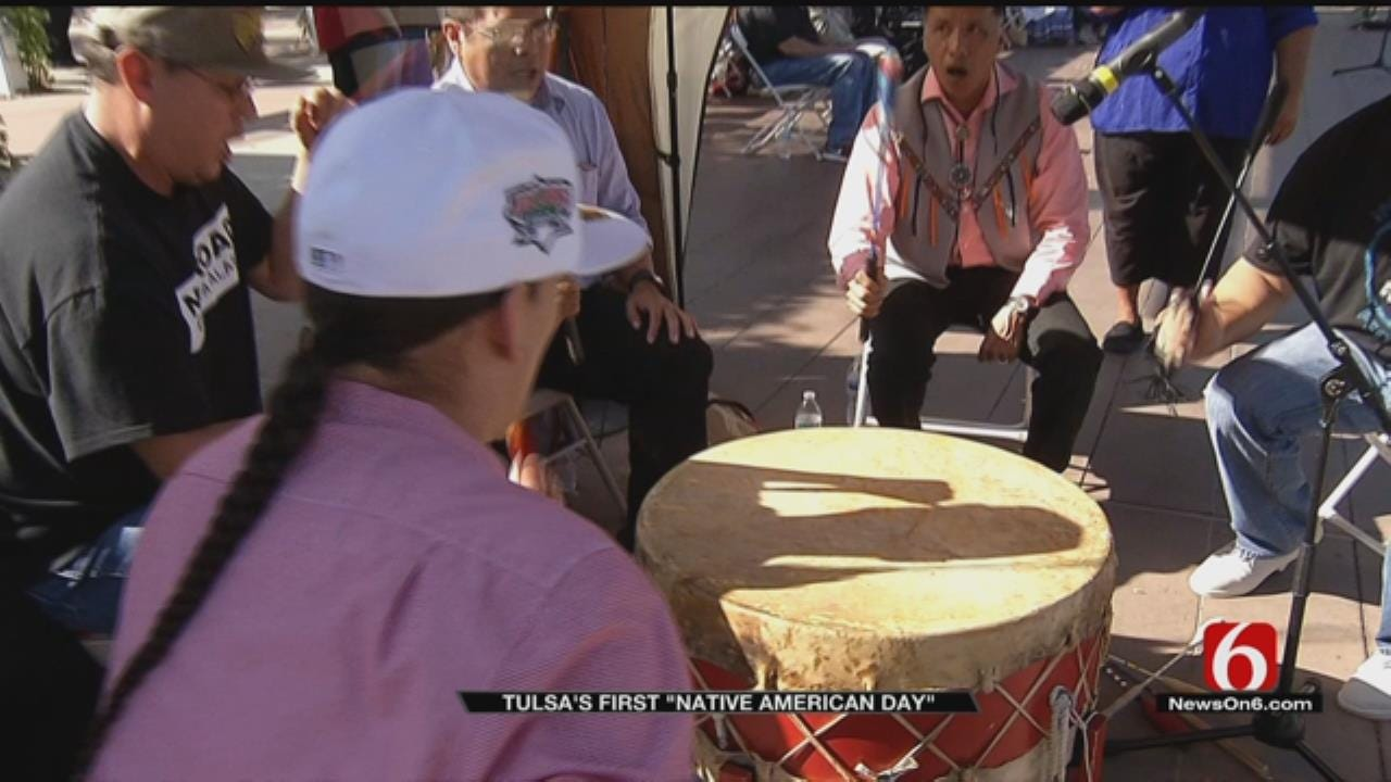 City Of Tulsa Celebrates First Native American Day