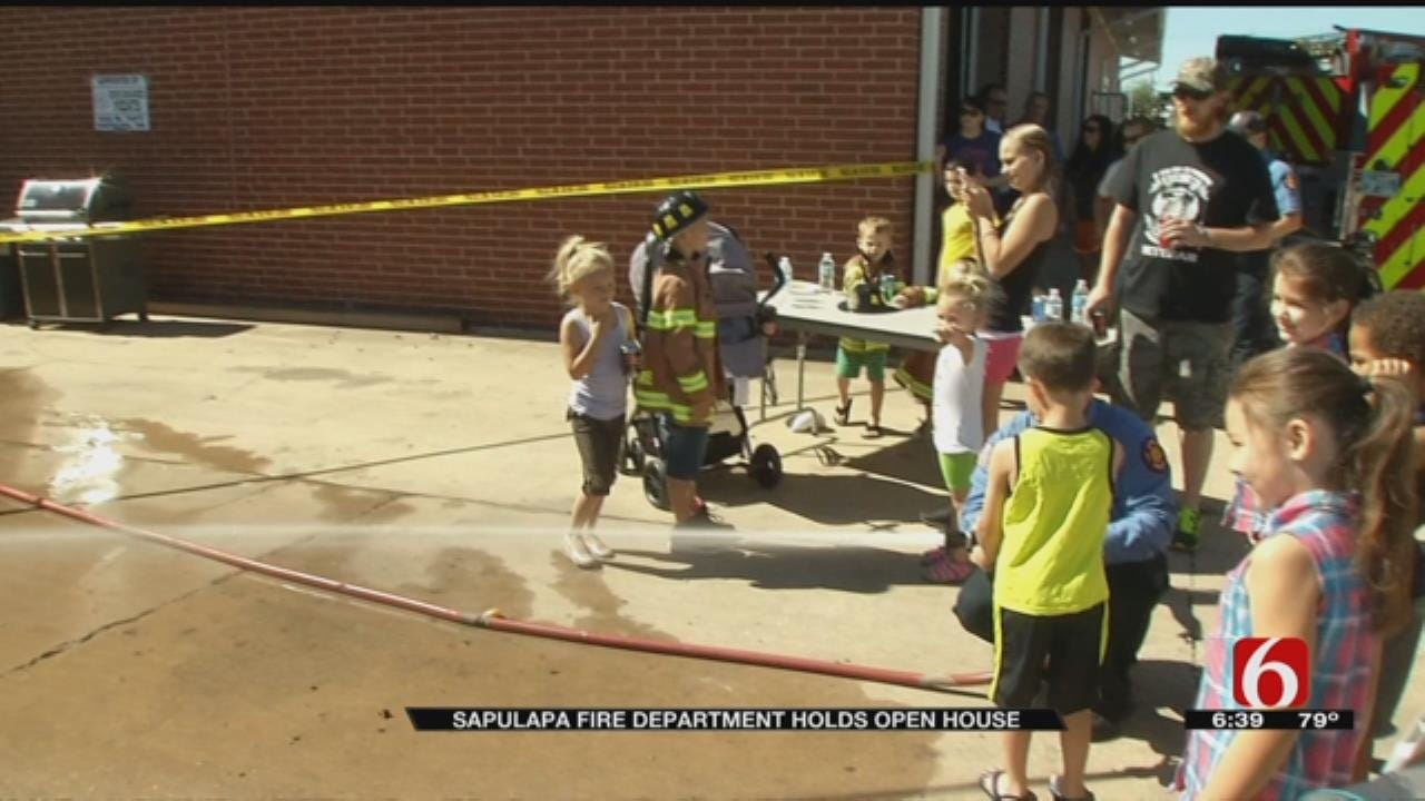 Sapulpa Fire Department Holds Open House