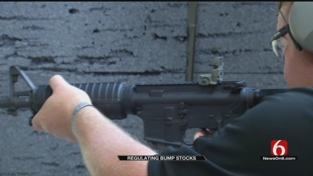 Bump Stocks Explained By Local Shooting Center