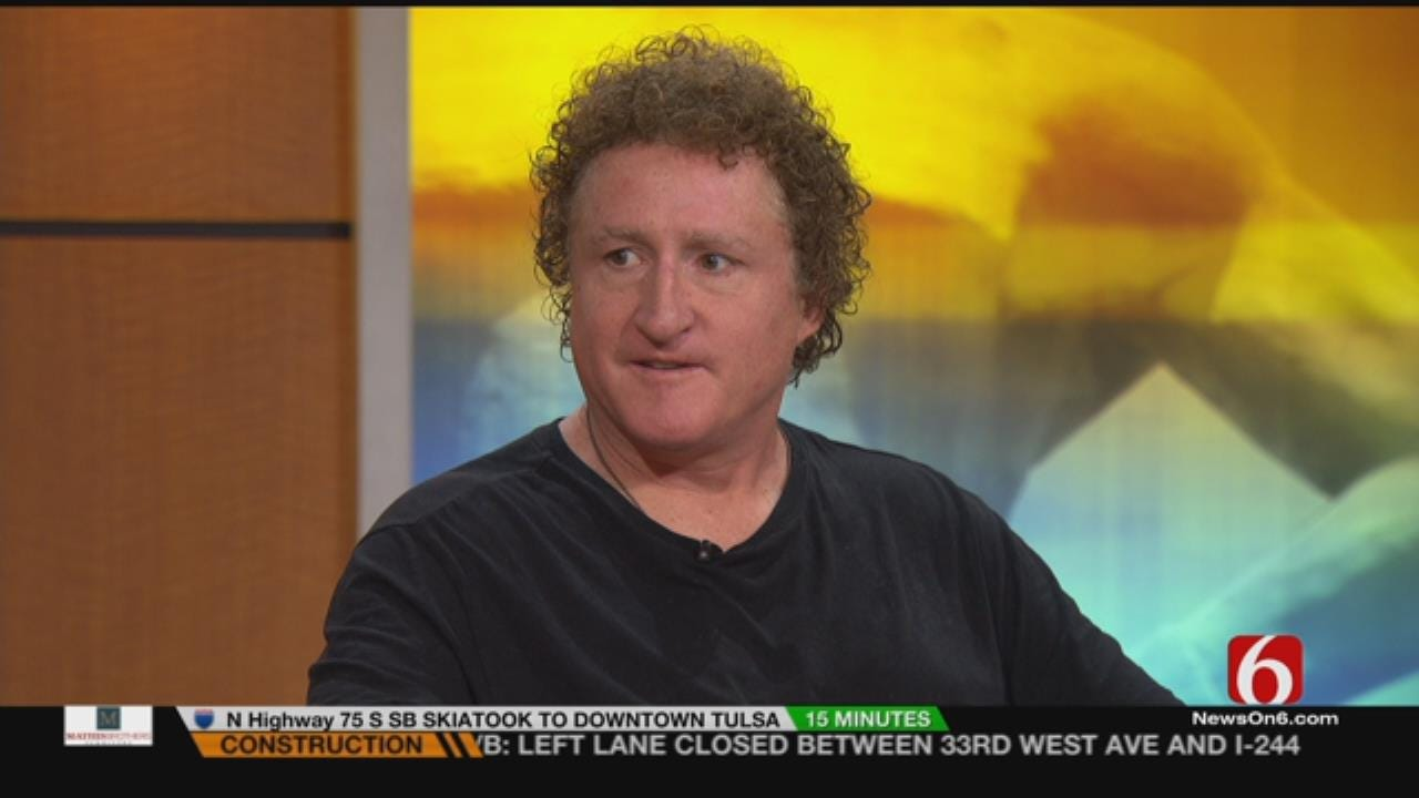 Jefrey Taylor, Who's Walking Across America, Stops By 6 In The Morning