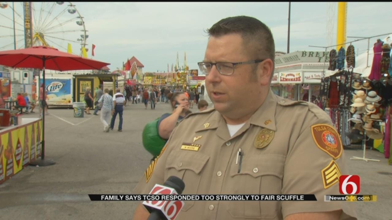 Tulsa State Fair Fight Leaves One Man Behind Bars