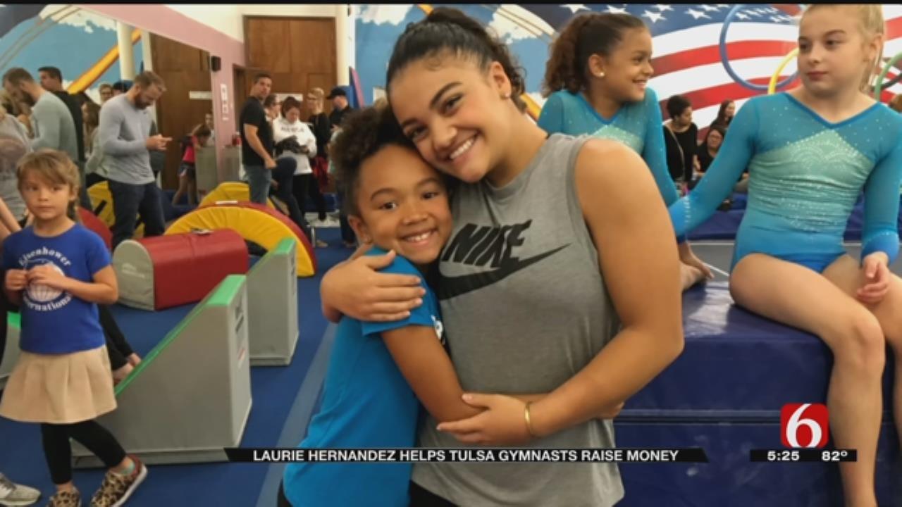 Olympian Helping Raise Funds For Tulsa's Aim High Academy