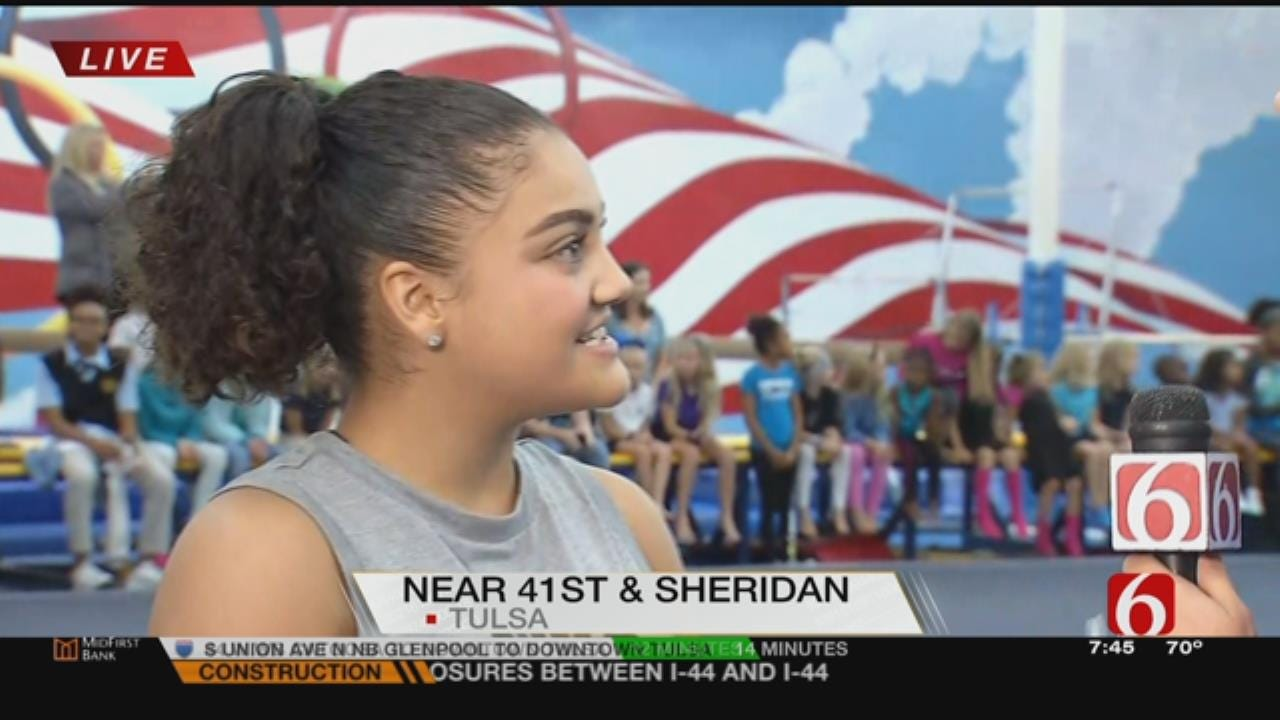 Olympian Laurie Hernandez Talks With News On 6