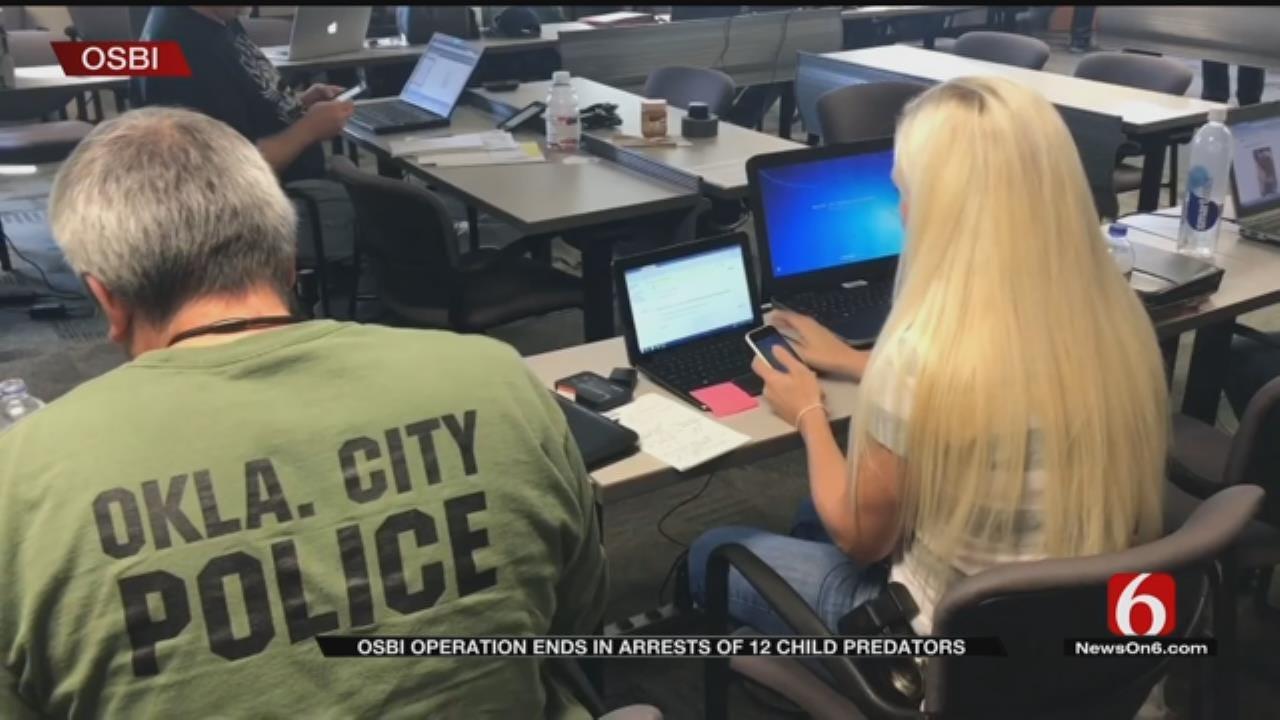 Oklahoma Sting Operation Nets 12 Child Predator Arrests