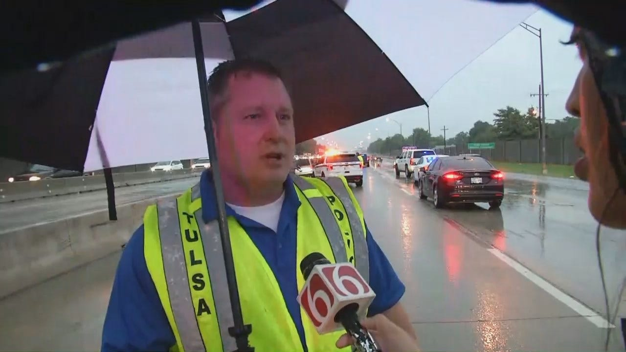 WEB EXTRA: Tulsa Police Sgt. Tim Means Talks About The Death