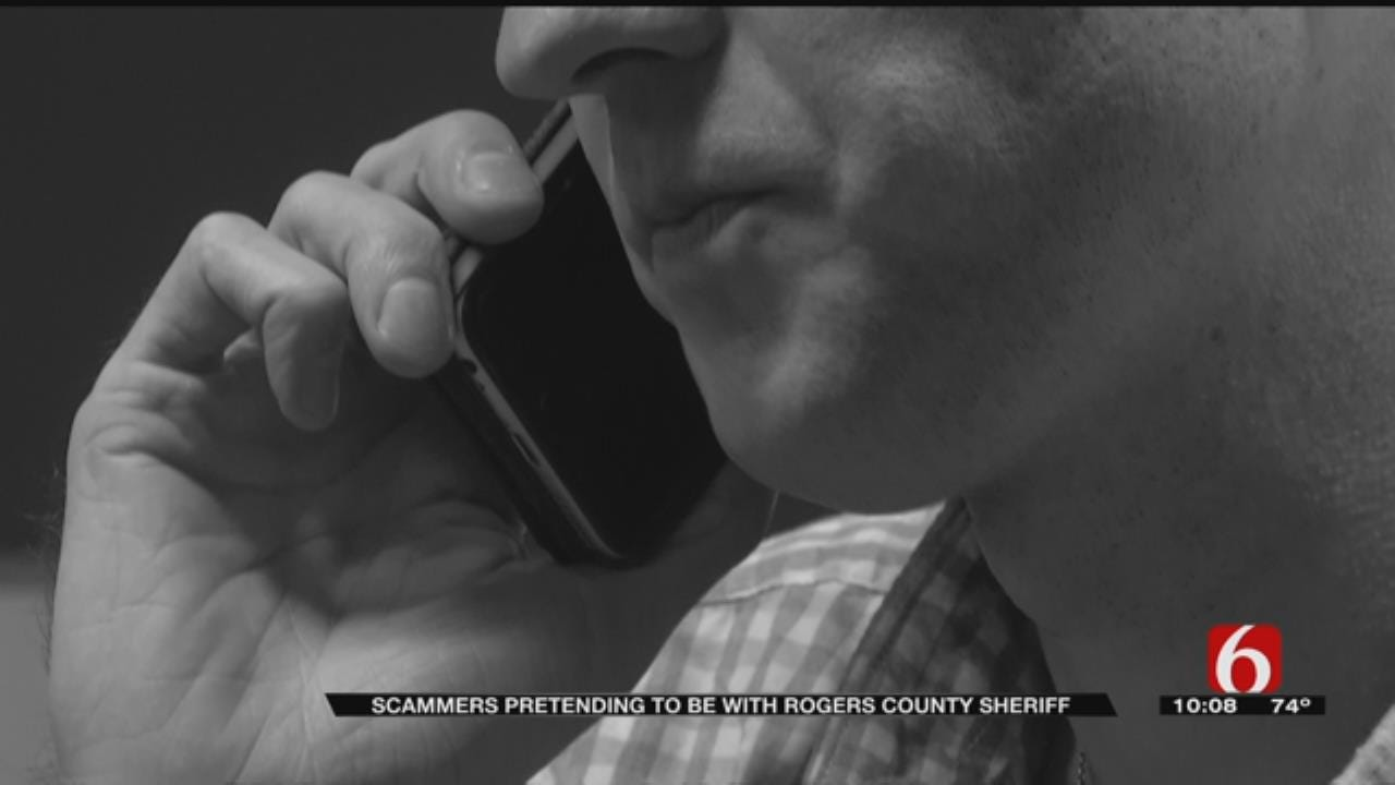 Phone Scam Going Around Rogers County