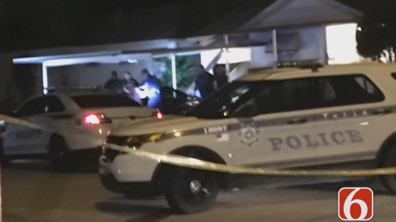 Joseph Holloway Reports On Car Crash Into Tulsa Home