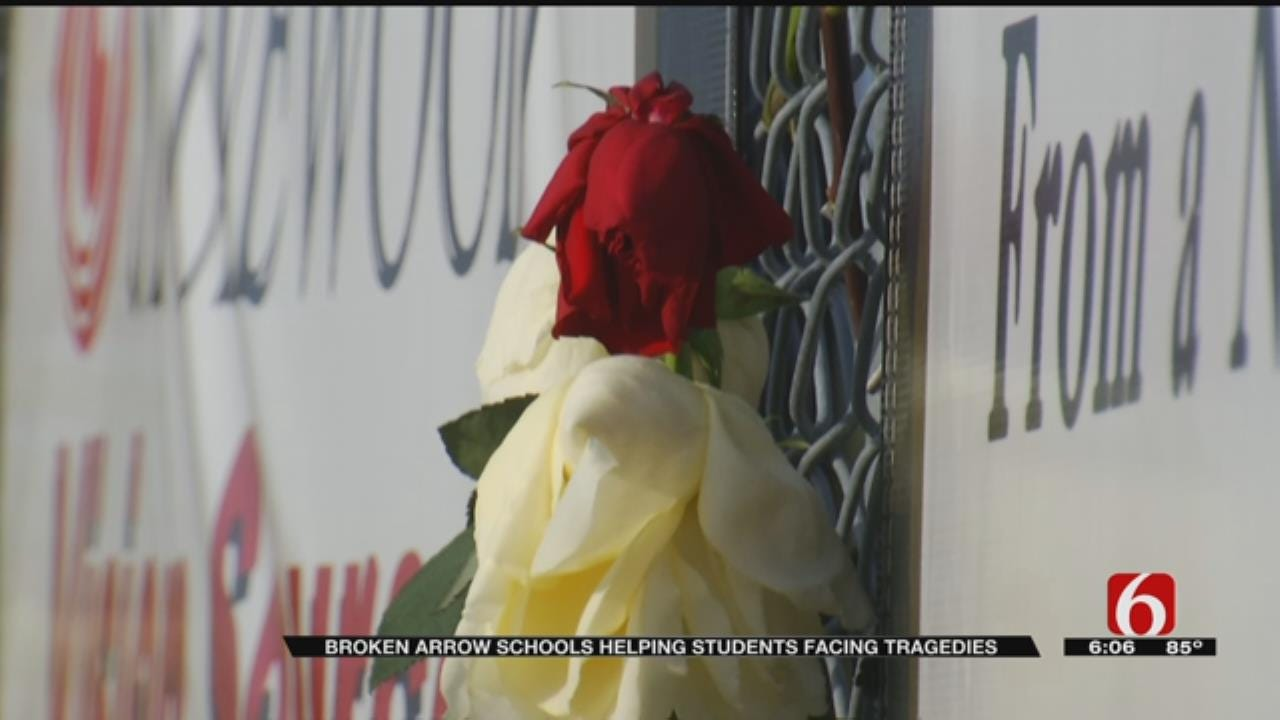BA Students Return To Class For First Time Since Student's Death