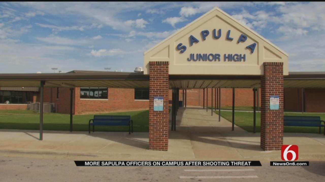 Police Increase Presence On Sapulpa School Campuses After Shooting Threat